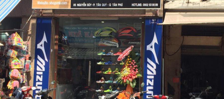 Hệ thống cửa hàng cầu lông Shop VNB. Ảnh: Internet.