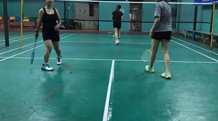 Sân cầu lông Tân Sơn, sân yêu thích của người chơi Tân Bình. Ảnh: Internet.
