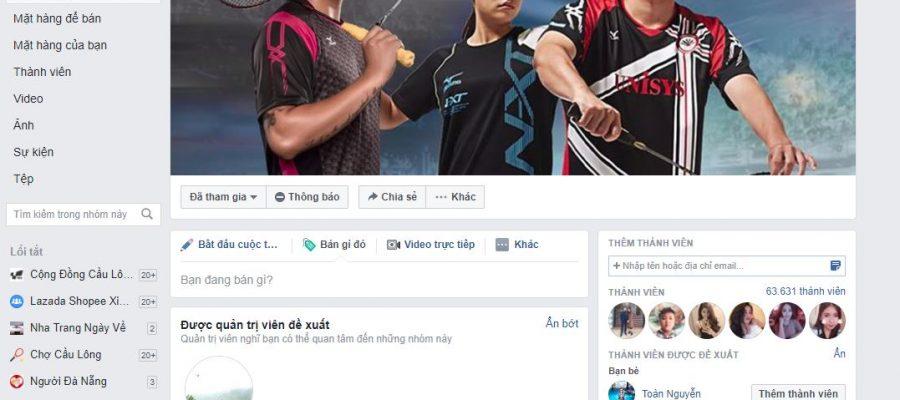 Xem kết quả cầu lông nhanh tại các group Facebook. Ảnh: Internet.