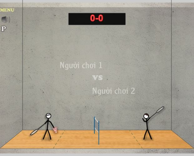 Trò chơi cầu lông thu hút rất nhiều người. Ảnh: Internet.