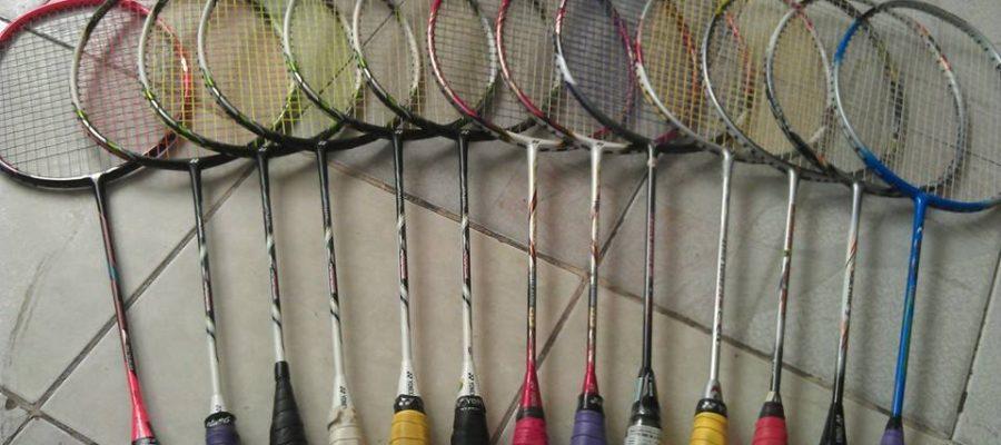 Một trong những nơi mua bán vợt cầu lông cũ. Ảnh: Internet.