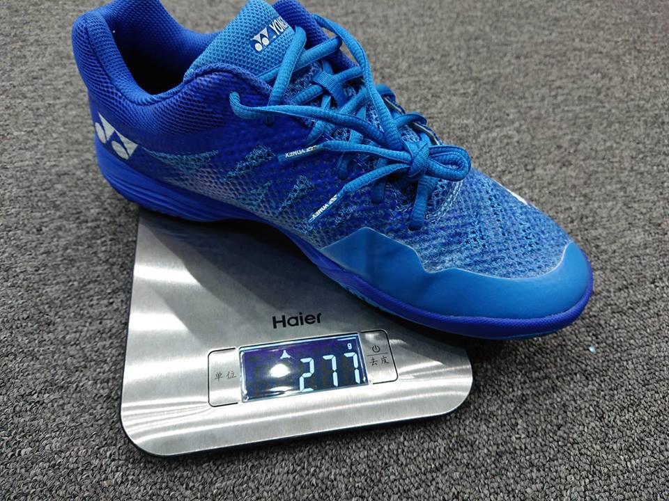 Giày cầu lông Yonex Aerus 3 có trọng lượng siêu nhẹ. Ảnh: Internet.