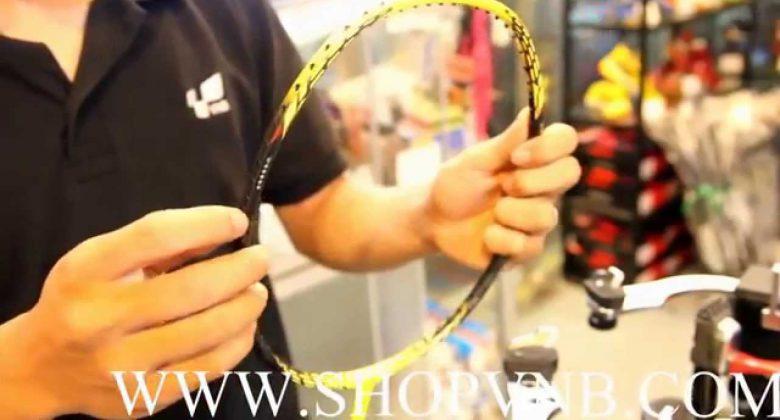 Nơi mua vợt cầu lông giá rẻ chất lượng nhất. Ảnh: Internet.